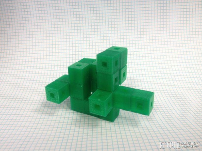 联锁立方体 3D模型  图1