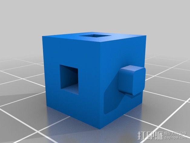 联锁立方体 3D模型  图2