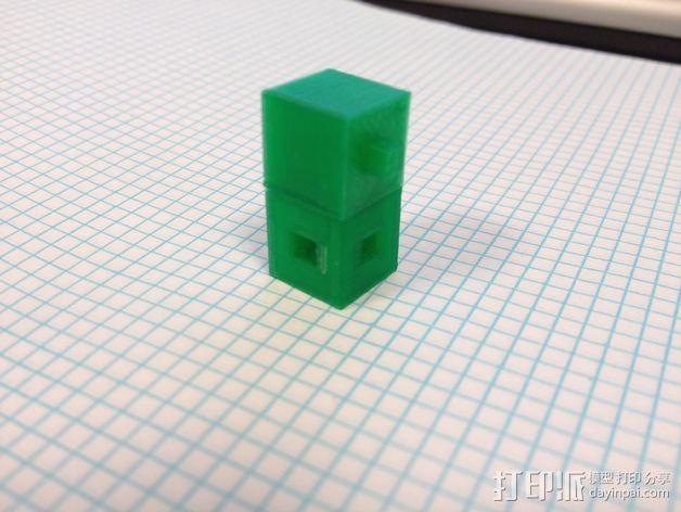 联锁立方体 3D模型  图3