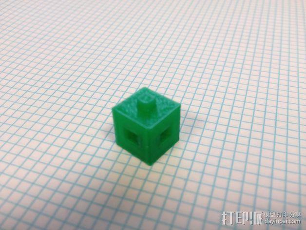 联锁立方体 3D模型  图4
