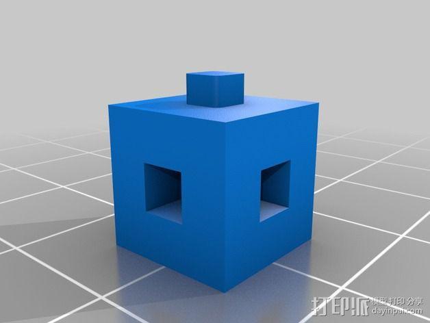 联锁立方体 3D模型  图7