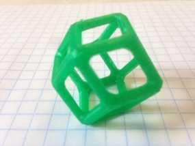 菱形十二面体 3D模型