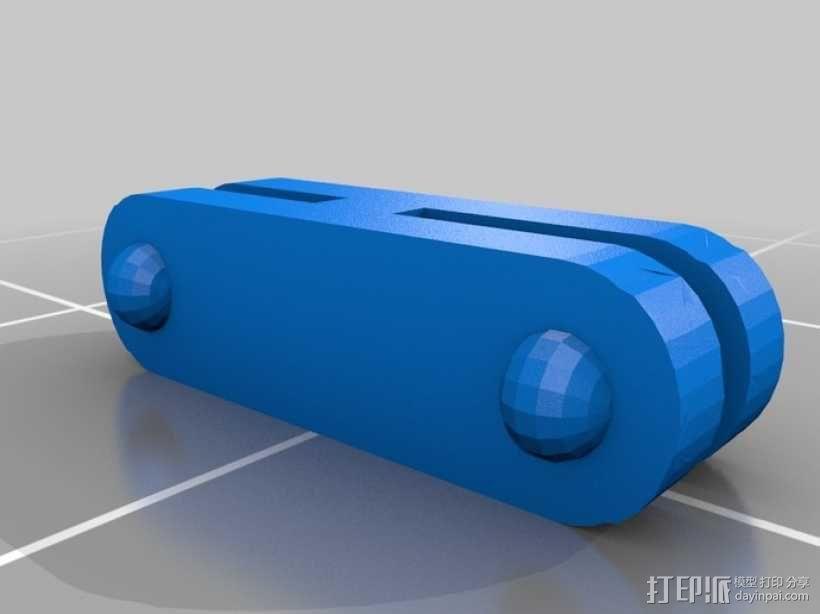 肺动脉 模型 3D模型  图4