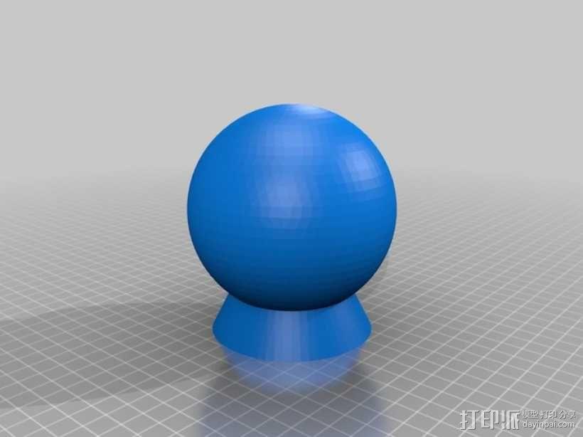 纳米俄罗斯套娃模型 3D模型  图1
