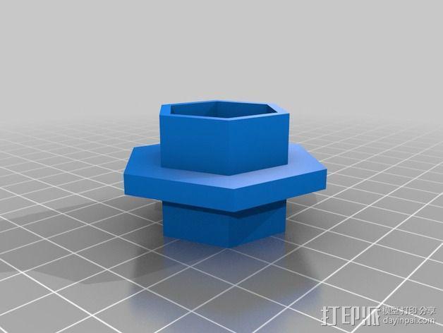 模块化移动火星基地 3D模型  图2