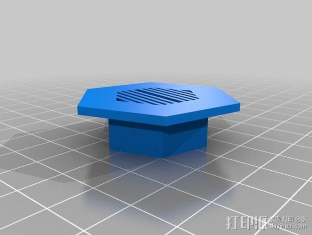 模块化移动火星基地 3D模型  图3