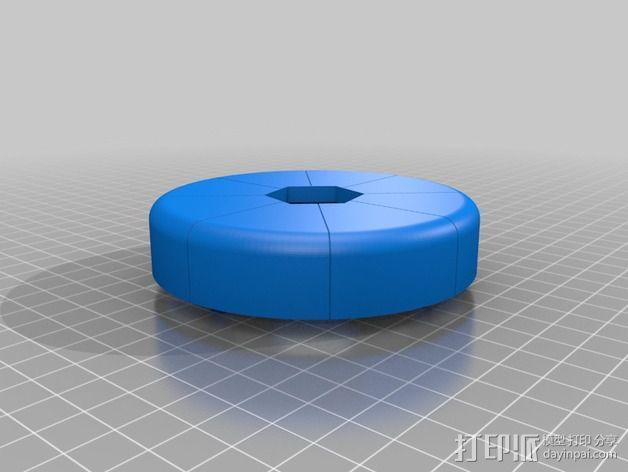 模块化移动火星基地 3D模型  图6