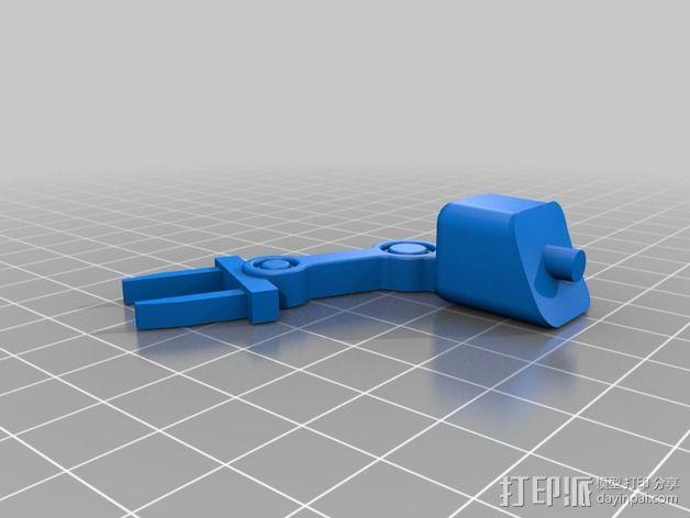 模块化移动火星基地 3D模型  图9