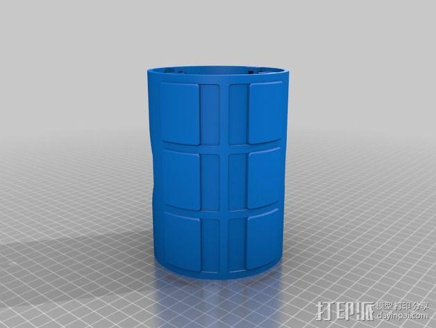 模块化移动火星基地 3D模型  图10