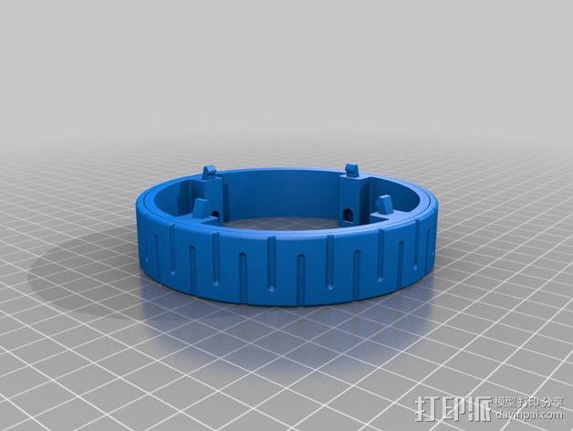模块化移动火星基地 3D模型  图13