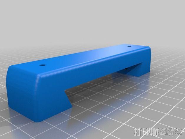 导星镜卡环 3D模型  图4