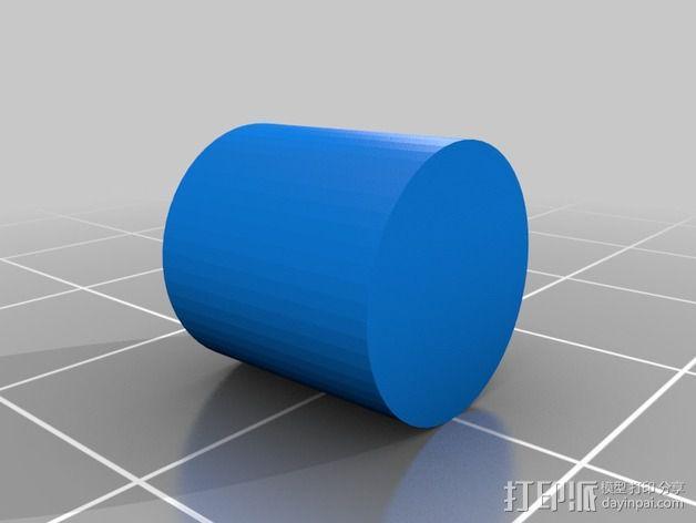 导星镜卡环 3D模型  图2