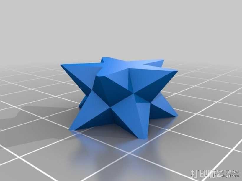 星星 3D模型  图2