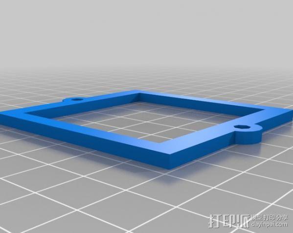 参数化自动滤光片转盘 3D模型  图2