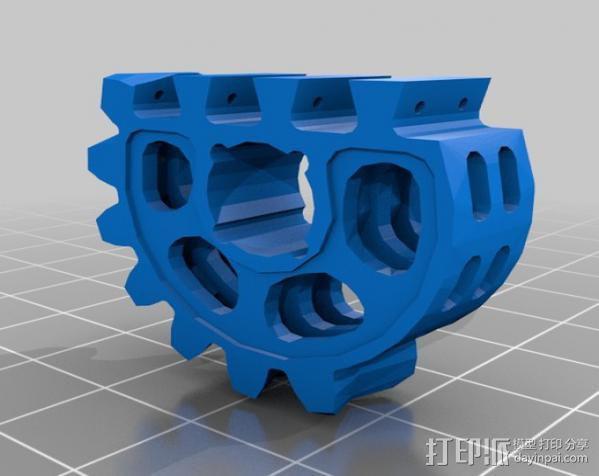仿生爪 3D模型  图2