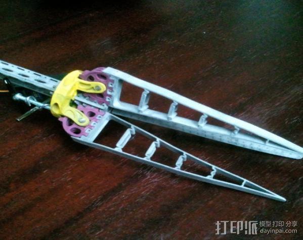 仿生爪 3D模型  图1
