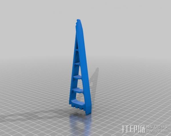 仿生爪 3D模型  图3