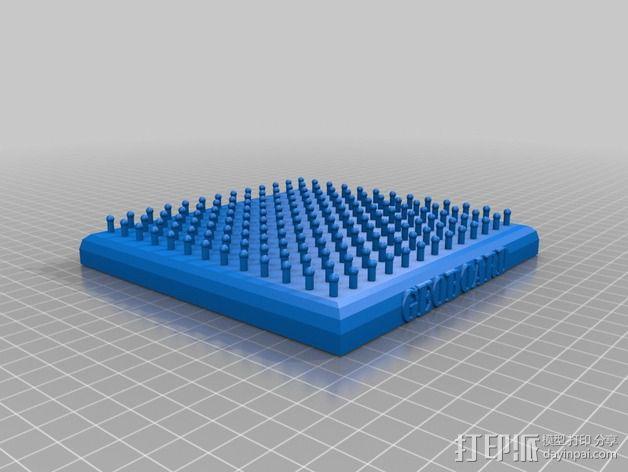 几何板 3D模型  图2