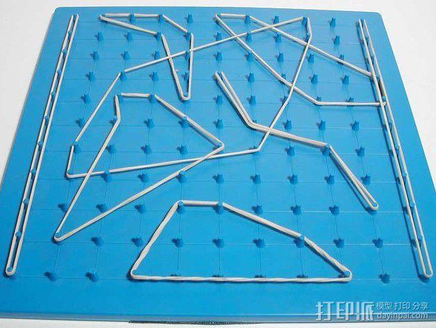 几何板 3D模型  图1