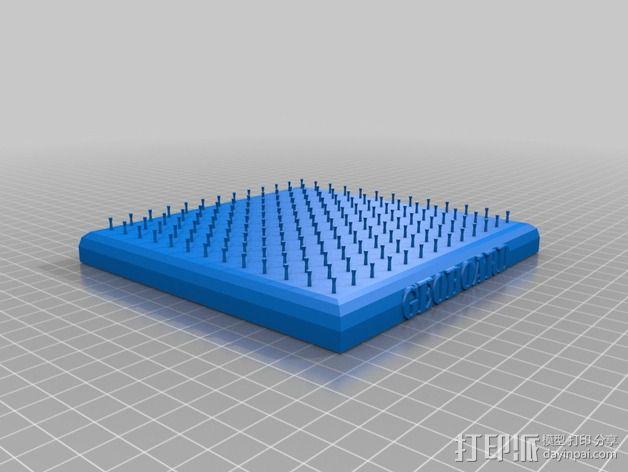 几何板 3D模型  图3