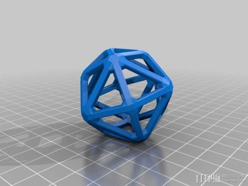 卡塔兰立体 3D模型  图2