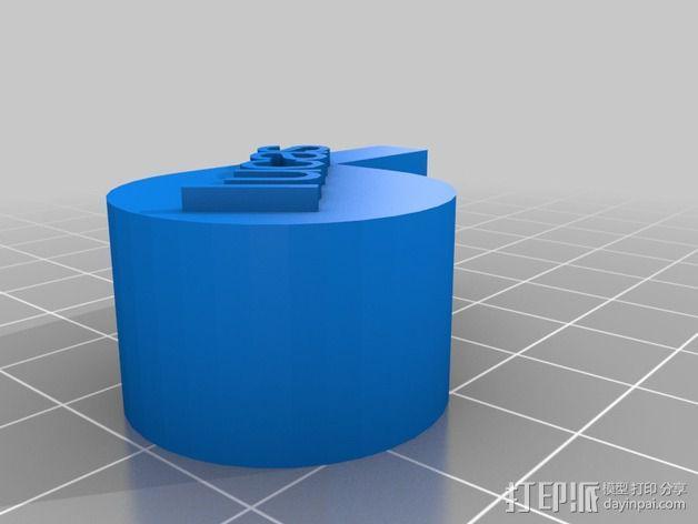 口哨 3D模型  图1