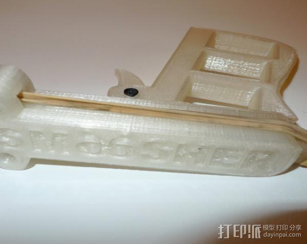 苍蝇拍 3D模型  图1