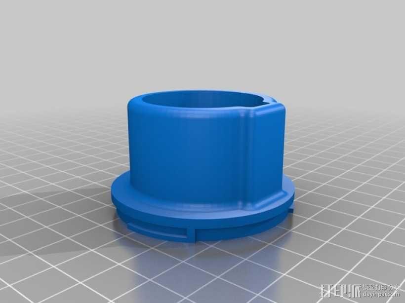 佳能EOS相机聚焦环 3D模型  图1