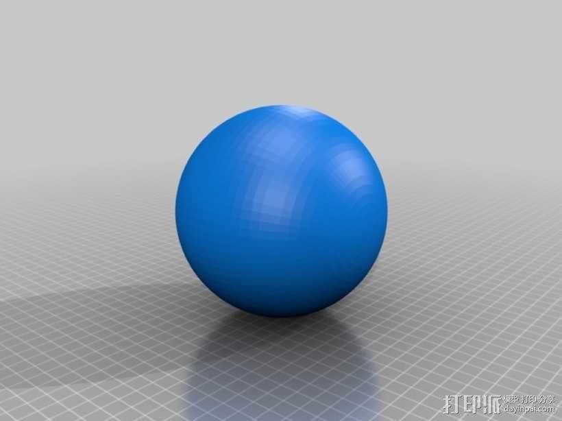球 3D模型  图1