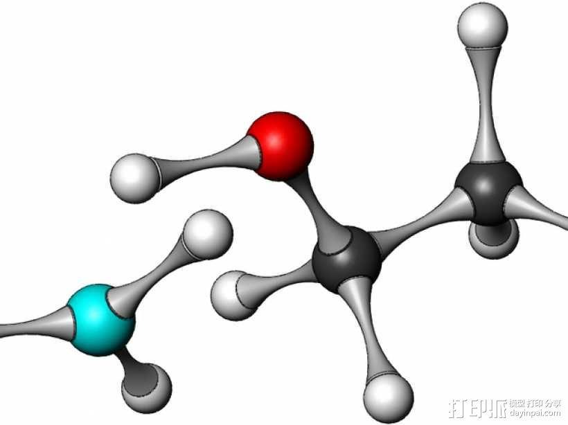 化学分子模型 3D模型  图9