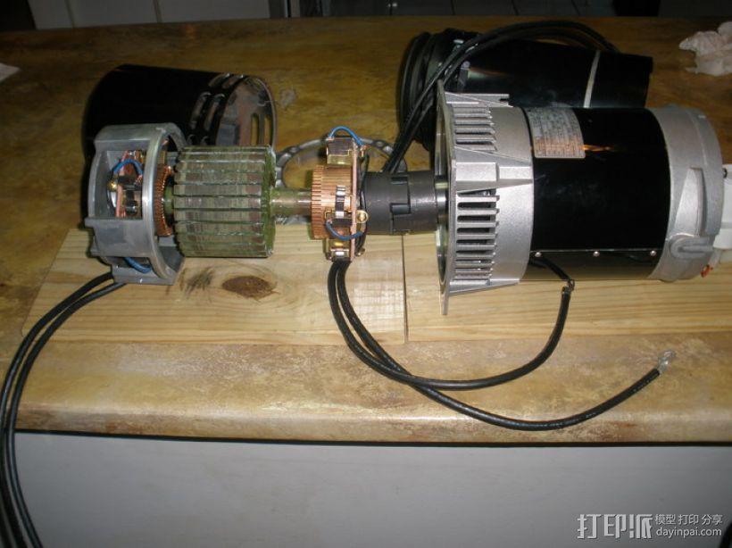 发动机 3D模型  图2