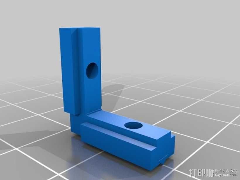 无缝接头 3D模型  图2