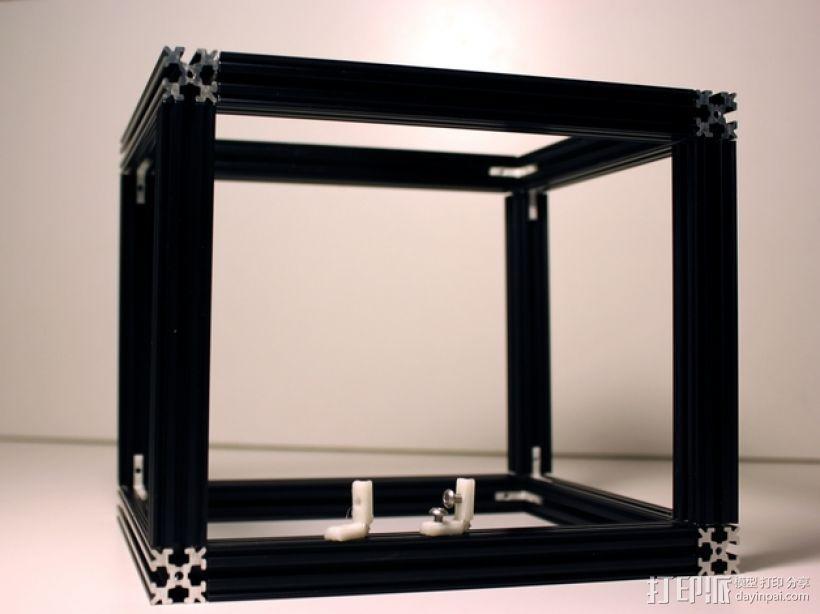 无缝接头 3D模型  图1