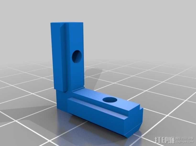 无缝接头 3D模型  图3