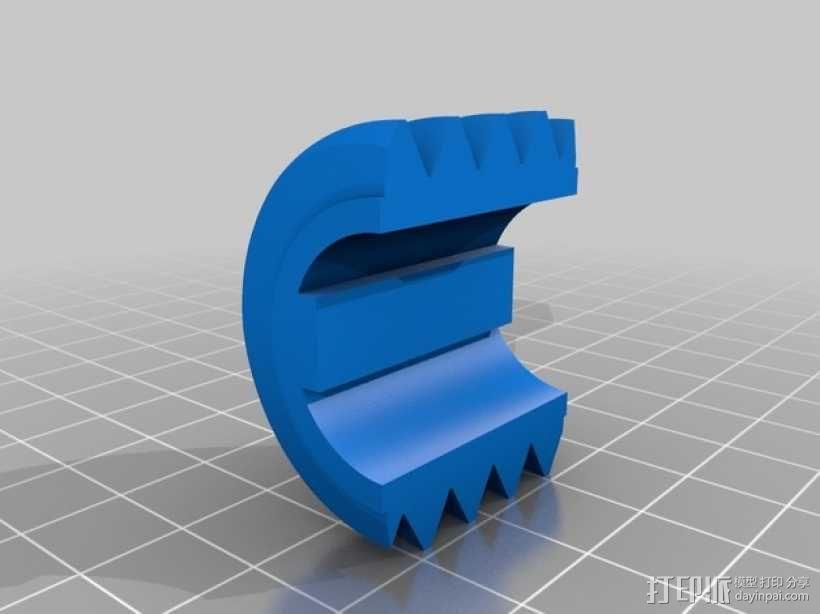蜗轮 3D模型  图1