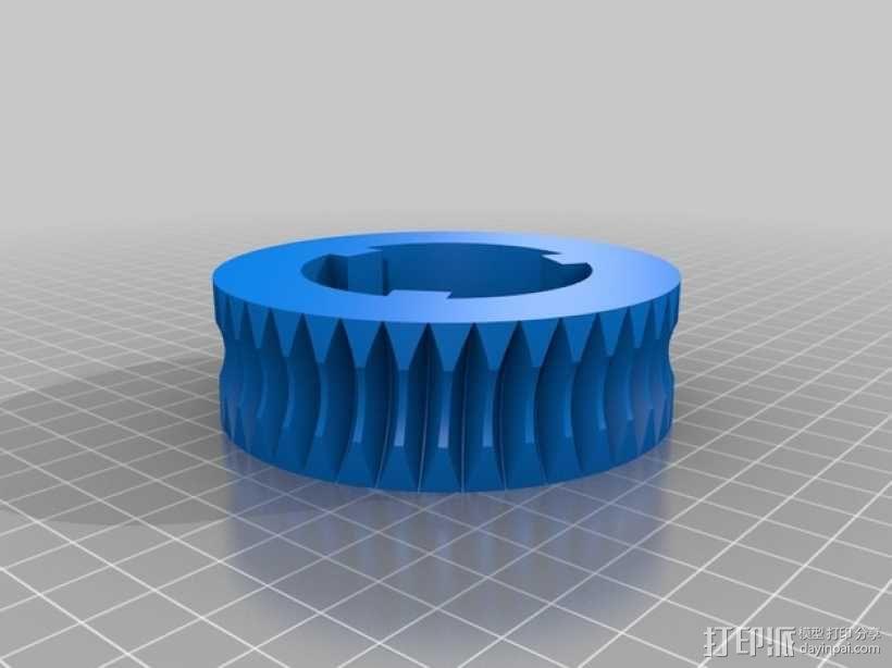 蜗轮 3D模型  图2