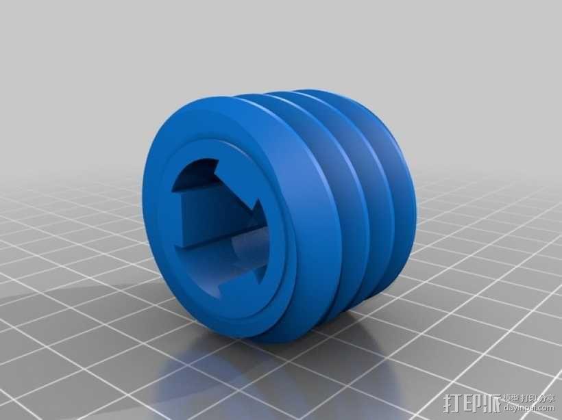 蜗轮 3D模型  图3