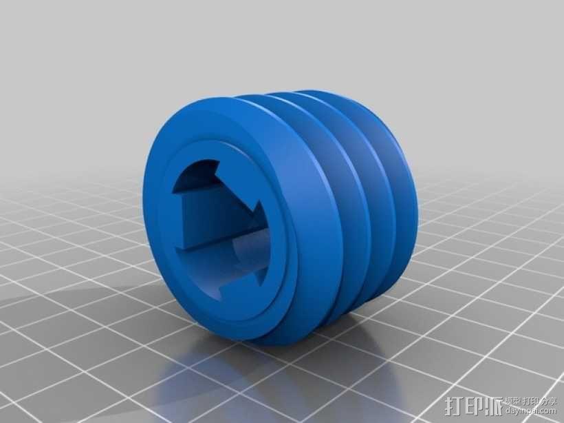 蜗轮 3D模型  图6