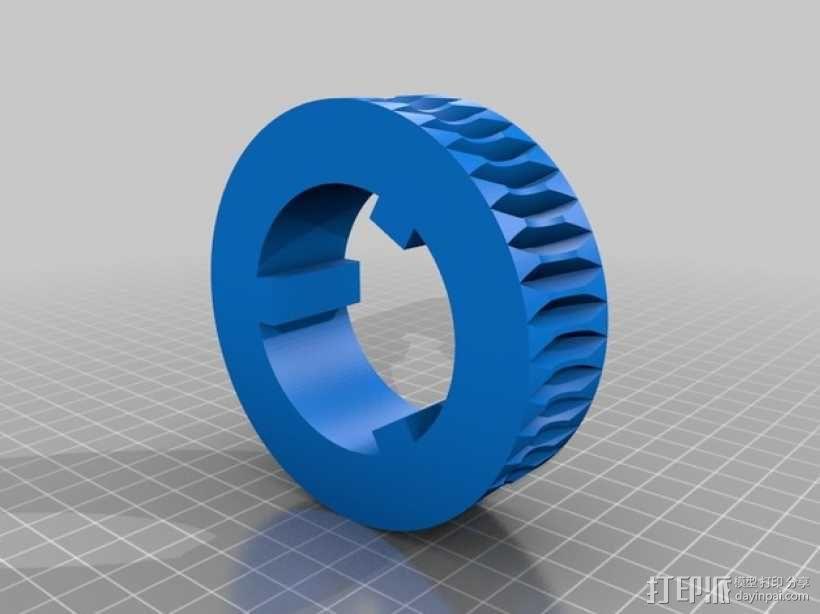 蜗轮 3D模型  图5