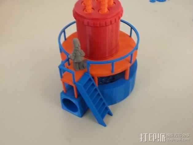 玩具反应堆 3D模型  图2
