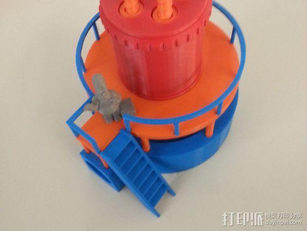 玩具反应堆 3D模型  图1