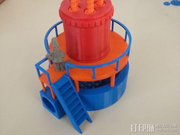 玩具反应堆 3D模型  图3