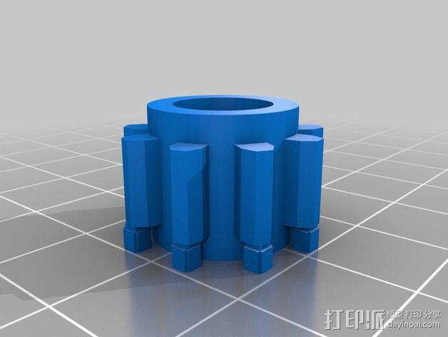 玩具反应堆 3D模型  图5