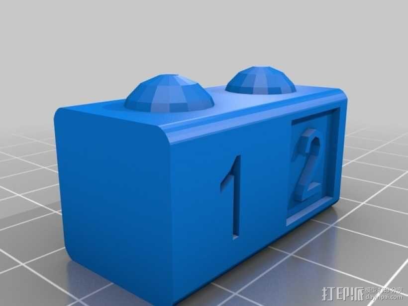 数字方块 3D模型  图2