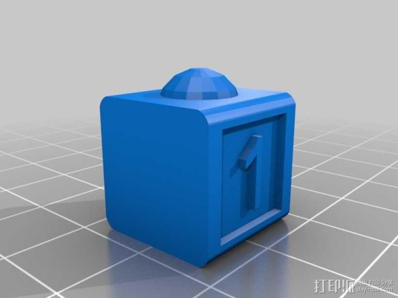 数字方块 3D模型  图3