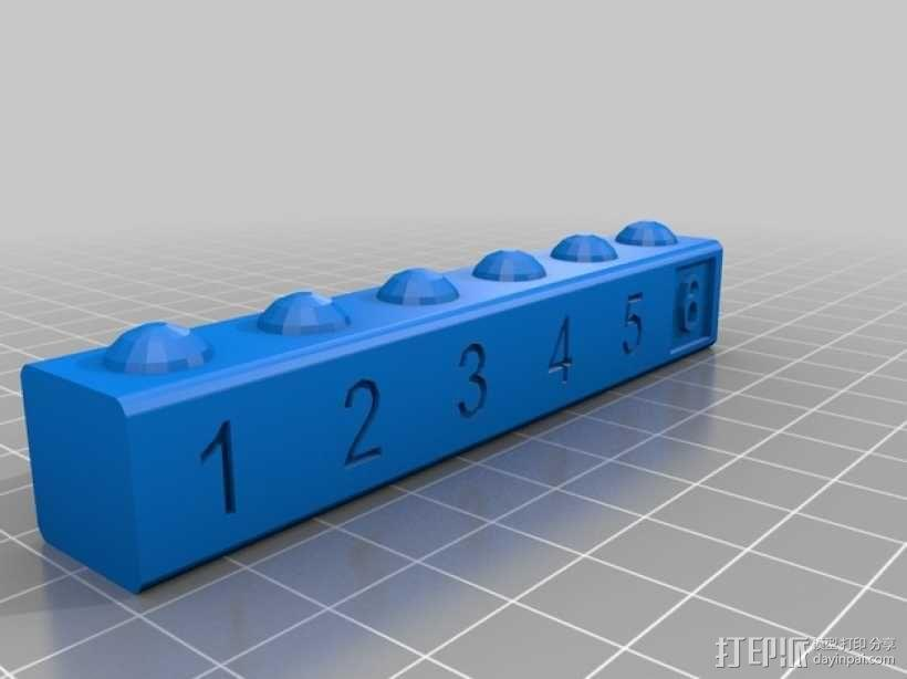 数字方块 3D模型  图5