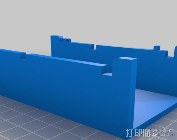 电泳槽 3D模型  图2