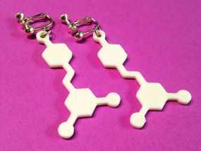 白藜芦醇分子模型 3D模型