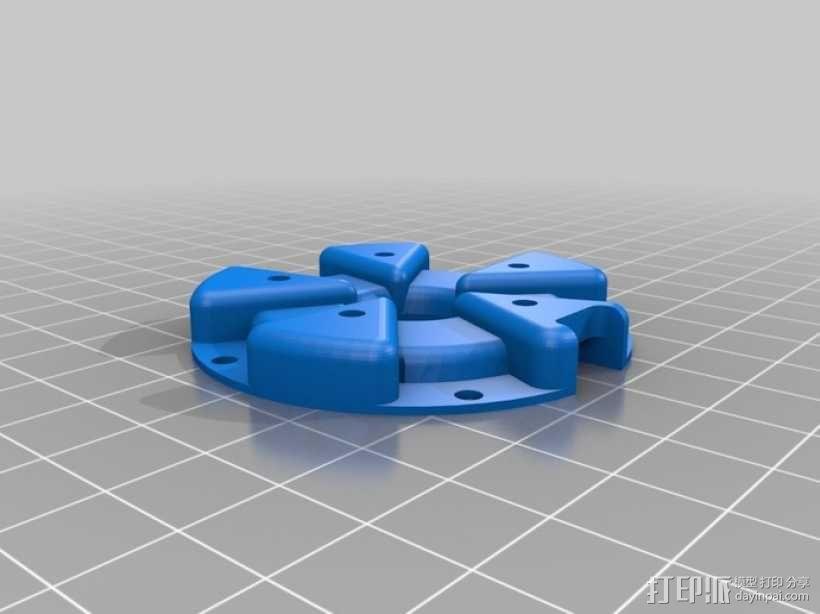 风向标 3D模型  图1