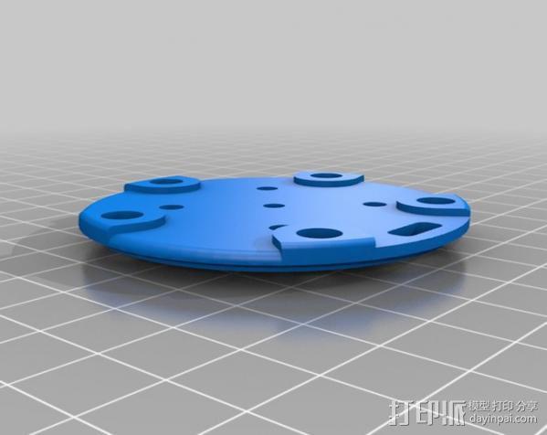 风向标 3D模型  图2